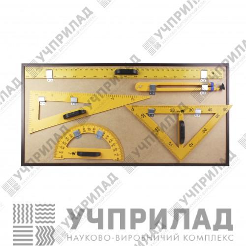 Демонстраційний комплект вимірювальних приладів на магнітній дошці